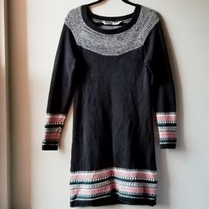 EUC Athleta Fair Isle Sweater Dress Size Small